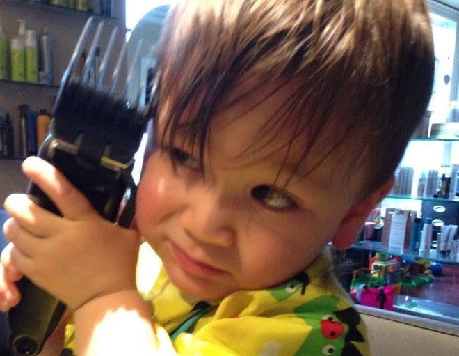 A Beginners Guide To Babys First Haircut Turning Hedz Creations